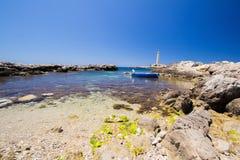 Favignana lighthouse Stock Photography