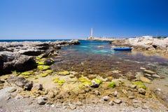 Favignana lighthouse Royalty Free Stock Photography