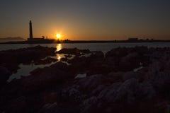 Favignana lighthouse Royalty Free Stock Image