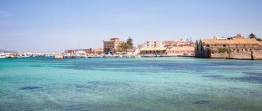 Favignana marina, Sicily Stock Photography