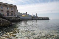 Favignana. Port of Favignana, Sicily, Italy Stock Images