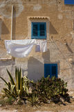 Favignana's Typical Architecture Royalty Free Stock Photos