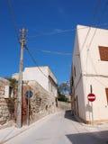 Favignana town, Favignana Island, Sicily, Italy Royalty Free Stock Photos
