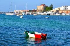 Favignana - Trapani, Sicily Royalty Free Stock Photo