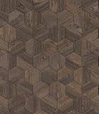 Favo di legno naturale del fondo, struttura senza cuciture di progettazione della pavimentazione del parquet di lerciume Fotografia Stock Libera da Diritti