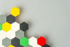 Favo senza cuciture multicolore Fotografia Stock