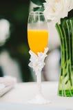 Favola Champagne Flute Fotografia Stock Libera da Diritti