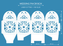 Favor box laser cut