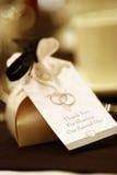 Favor de la boda Imágenes de archivo libres de regalías