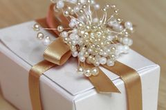 Favor de la boda Imagen de archivo libre de regalías
