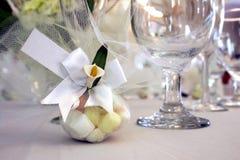Favor de la boda Foto de archivo libre de regalías