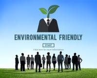A favor do meio ambiente vai o conceito verde dos recursos naturais Fotografia de Stock Royalty Free