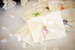 Wedding favors. And present Royalty Free Stock Image
