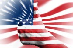 Favorable-Americano fotografía de archivo