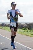 Favorable atleta Stefan Schmid (11) Foto de archivo libre de regalías
