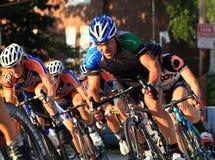 Favorable ciclista Fotografía de archivo libre de regalías