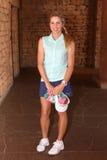 Favorable golfista Daniella Montgomery November 2015 de las señoras en Afr del sur Fotos de archivo