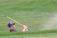 Favorable golfista de Sergio Garcia PGA fotos de archivo libres de regalías