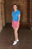 Favorable golfista Emma Cambrera-Bello November 2015 de las señoras en Afr del sur Imágenes de archivo libres de regalías