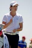 Favorable golfista Lorena Ochoa de LPGA Foto de archivo libre de regalías