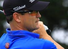 Favorable golfista Zach Johnson Imagenes de archivo