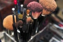 Favorables herramientas del maquillaje Imagen de archivo libre de regalías