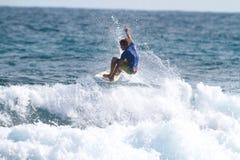 Favorables sepulcros de Dylan de la persona que practica surf Fotografía de archivo