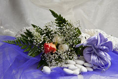 Favores 020 do casamento Fotos de Stock Royalty Free