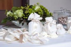 Favores de la boda Fotografía de archivo libre de regalías