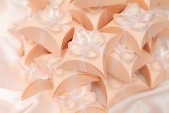 Favores de la boda Imagen de archivo libre de regalías