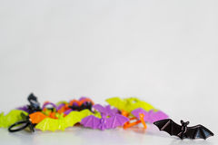 Favores de partido do anel do bastão de Dia das Bruxas Foto de Stock