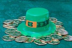 Favores de partido do dia de St Patrick Imagens de Stock