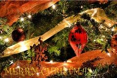Favoriet Kerstboomornament Stock Fotografie