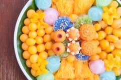Favoriete Thaise desserts Stock Afbeeldingen