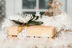 Favorit för gåva för ` s för nytt år fotografering för bildbyråer