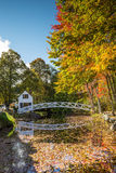 Favorit fotograferade broar in i Acadianationalpark Royaltyfria Bilder