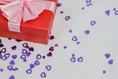 Favorit- gåvaaskar arkivfoton