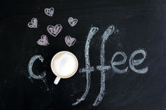 Favorite coffee Royalty Free Stock Images