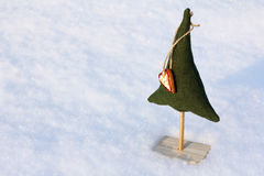 Favorite decoration for the Christmas tree Stock Image