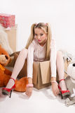 Favorite doll Stock Photography