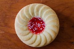 Favorite Jam cookies Royalty Free Stock Images