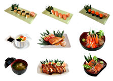 Favorite Japanese food Royalty Free Stock Images