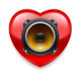 Favorite music icon Stock Photo