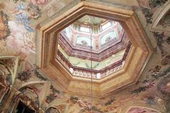 Favorite Palace in Rastatt-Foerch Royalty Free Stock Photos