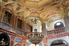 Favorite Palace in Rastatt-Foerch Stock Image