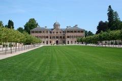Favorite Palace in Rastatt-Foerch Stock Photo