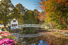 Favorite photographed bridges in in Acadia National Park Stock Photos