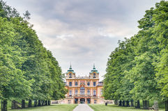 The Favorite Schloss in Ludwigsburg, Germany. The hunting lodge and summer residence Favorite Schloss in Ludwigsburg, Germany stock images