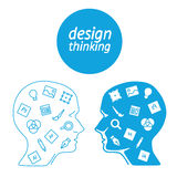 Favorite of software designer in the form icons Stock Photo