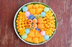 Favorite Thai desserts Stock Images